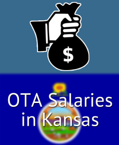 OTA Salaries in Kansas's Major Cities
