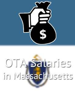 OTA Salaries in Massachusetts's Major Cities