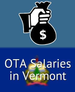 OTA Salaries in Vermont's Major Cities