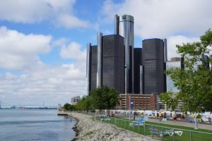 Detroit Renaissance Center - Top Cities for COTA professionals and Avg OTA Salaries