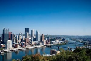 Pittsburgh Downtown - Most Popular City for COTA professionals by salary