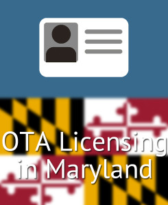 OTA Licensing in Maryland