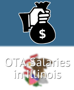 OTA Salaries in Illinois's Major Cities