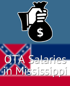 OTA Salaries in Mississippi's Major Cities