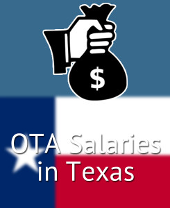 OTA Salary in Texas (TX) by Major Cities