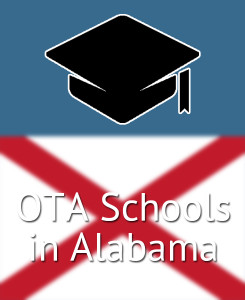 Find the best OTA schools in Alabama