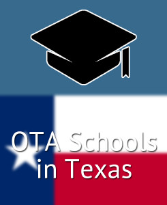 Compare accredited OTA schools in Texas (TX)