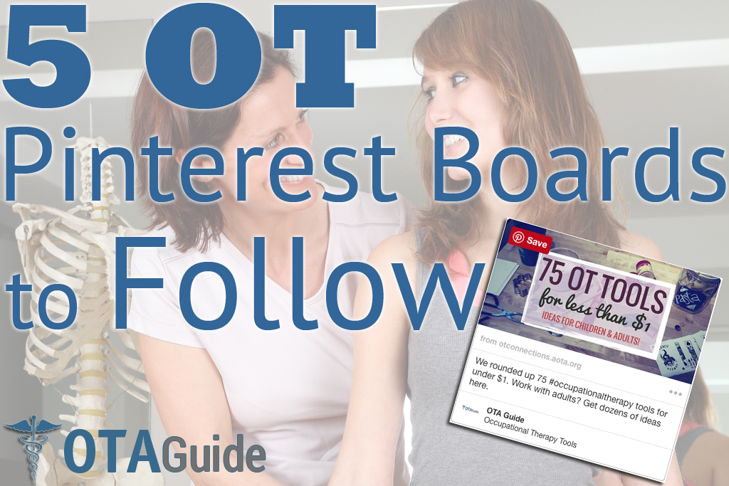 5 Occupational Therapy Pinterest Boards to Follow