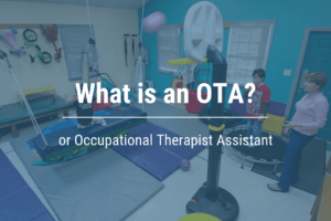 What is an OTA or Occupational Therapy Assistant