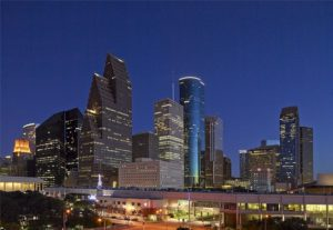Houston Skyline - Most Popular City for COTA by salary