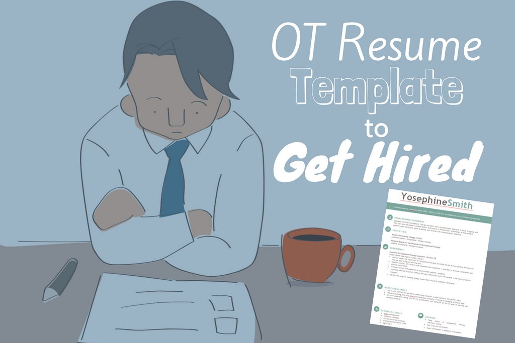 Premium Free Occupational Therapy Resume Template Download Tips For Getting Hired