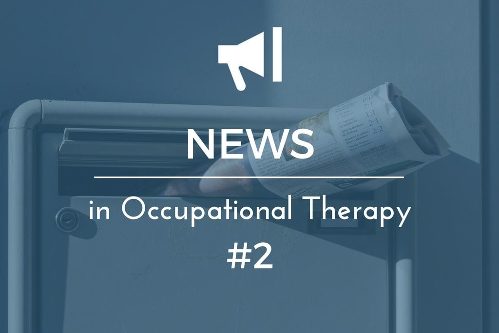 News Updates in Occupational Therapy 2