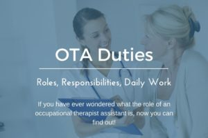 What Are Occupational Therapy Assistant Duties