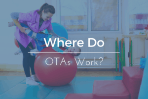 Where do Occupational Therapist Assistants Work